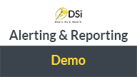 dsi alerting and reporting demo