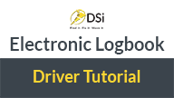 dsi elogs electronic logbook for truckers tutorial