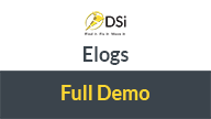 dsi elogs full demo