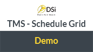 dsi tms schedule grid demo